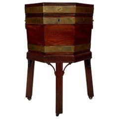 Antique Georgian Mahogany Cellarette, circa 1840