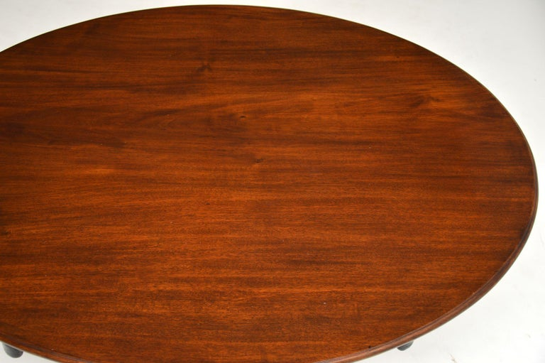 Antique Georgian Mahogany Tilt Top Dining Table 5