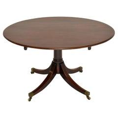Antique Georgian Mahogany Tilt-Top Dining Table