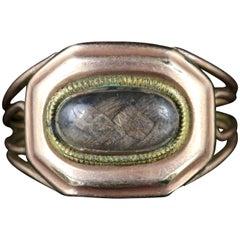 Antique Georgian Mourning Ring 18 Carat, Dated 1808