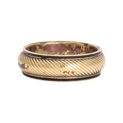 Antique Georgian Optical Illusion Mourning Ring