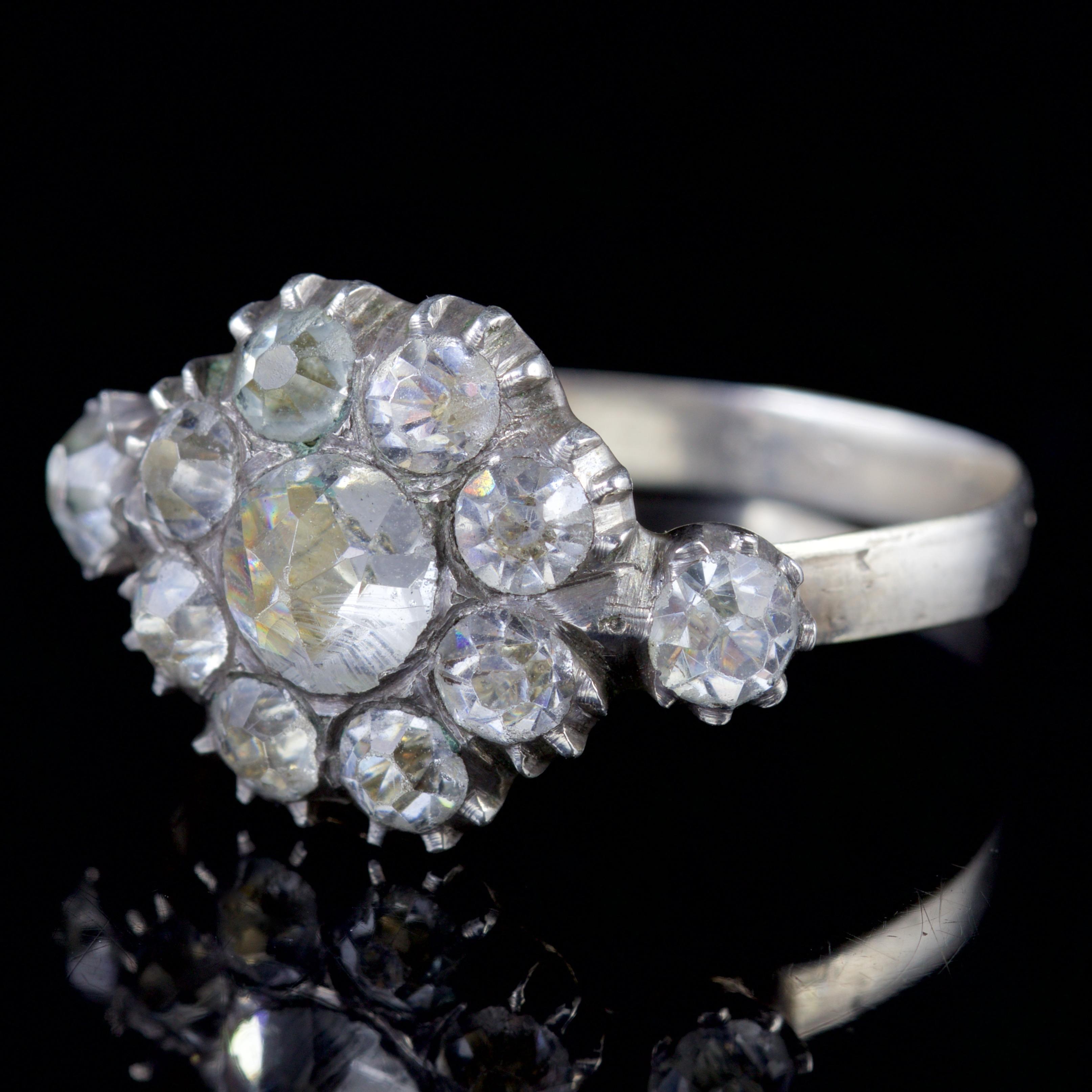 Schlussverkauf Antiker Silberring Mit Stein Ringe Ringe
