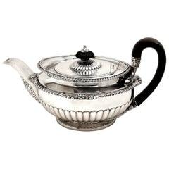 Antique Georgian Paul Storr Sterling Silver Teapot 1816 Tea Pot