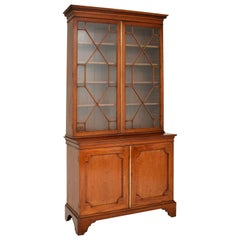 Antique Georgian Period Mahogany Library Bookcase
