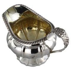Antique Georgian Sterling Silver Cream Bowl, by Jonathan Hayne, London, 1829
