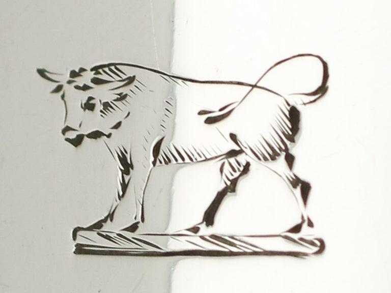 Engraved Antique Georgian Sterling Silver Meat Skewer by Paul Storr For Sale