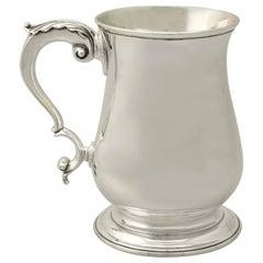 Antique Georgian Sterling Silver Pint Mug