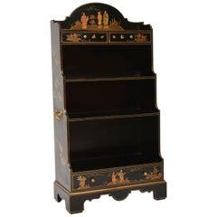 Antiker Georgischer Stil Chinoiserie, Offenes Bücherregal