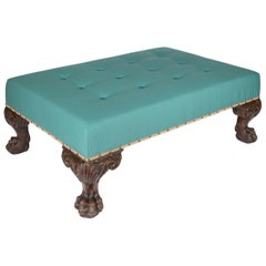 Antique Georgian Style Ottoman Footstool or Coffee Table