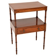 Antique Georgian Two Tier Side Table