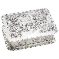 Antique German 800 Silver Box