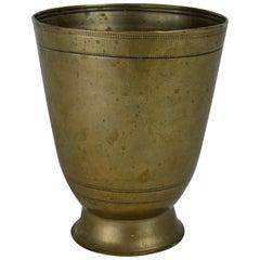Antique German Paktong Tumbler Cup, 17th Century