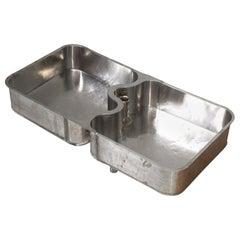 Antique German Silver Undermount Sink