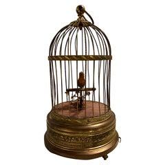 Antique German Singing Bird Music Box Marked Underside K.G Karl