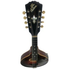 Antique Gibson circa 1917 A-4 Mandolin Sunburst