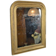Antique Gilded Mirror, France, Early 20th Century