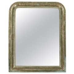 Antique Gilt Silver Louis Philippe Mirror