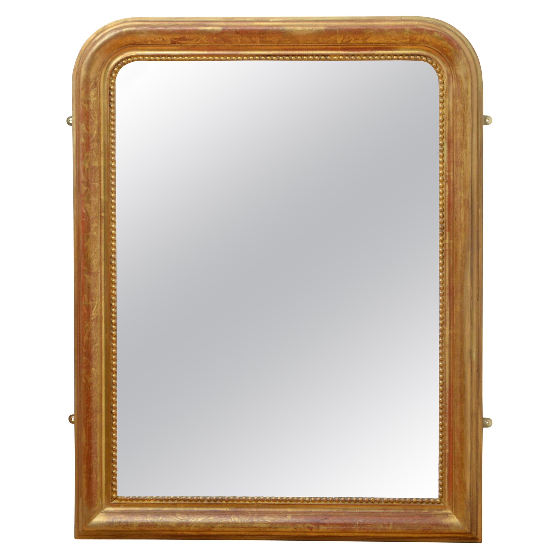 Antique Gilt Wall Mirror
