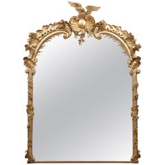 Antique Giltwood Mirror
