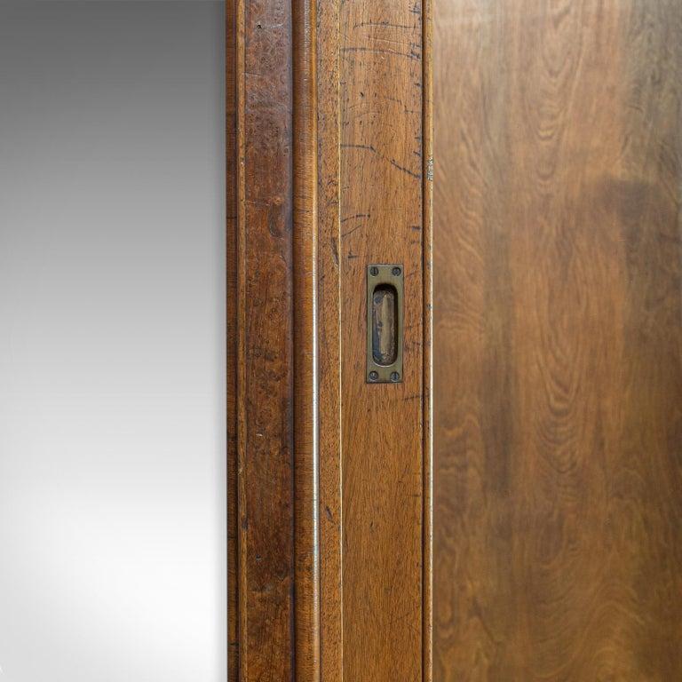 Antique Glazed Wardrobe Cabinet, Oak, Retail Shop Fitting, Display, circa 1900 For Sale 2
