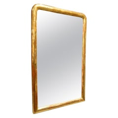 Antique Gold Leaf French Mirror
