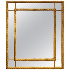 Antique Gold Mirror Square
