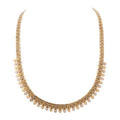 Antique Gold Necklace, 1940s