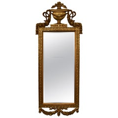 Antique Gold Pier Mirror