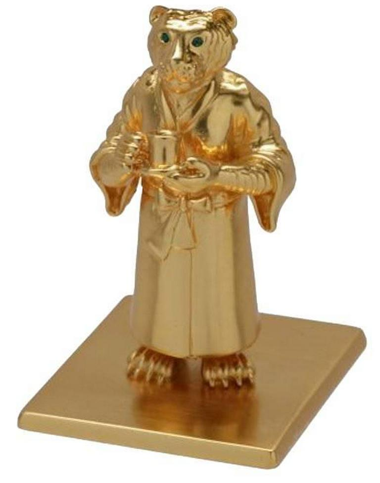 Antique Gold-Plated Bronze