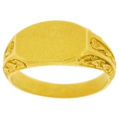 Antique Gold Signet Ring