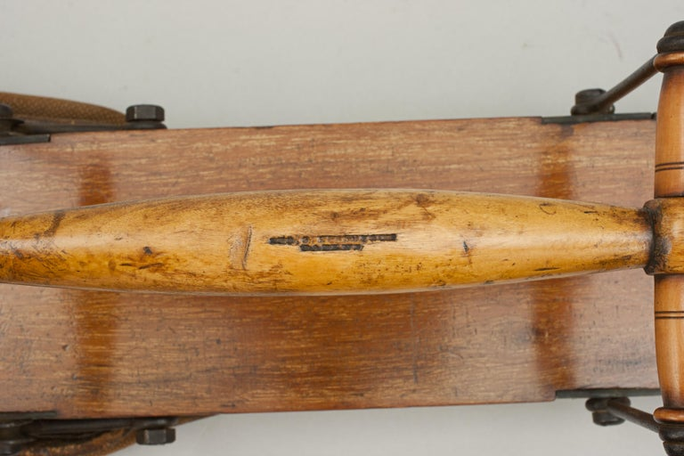 Late 19th Century Antique Golf Bag, Automaton Caddy by Bussey For Sale