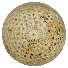 Antique Golf Ball, Bramble Pattern, 'The Conqueror'