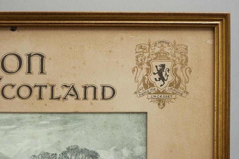 Antique Golf Print, Duddingston, Life Association of Scotland, Michael Brown For Sale 3