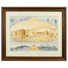 Antique Golf Print, Tom Morris of St Andrews, Cope's Tobacco