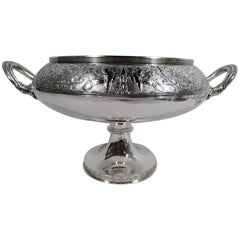 Antique Gorham American Classical Sterling Silver Compote