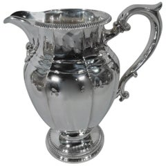 Antique Gorham Classical Sterling Silver Water Pitcher