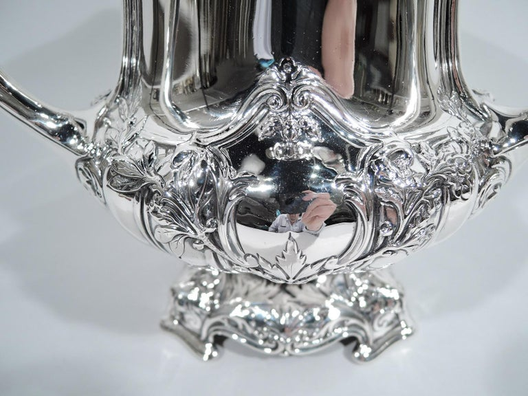 Early 20th Century Antique Gorham Edwardian Classical Sterling Silver Trophy Loving Cup For Sale