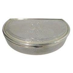 Antique Gorham Edwardian Regency Gilt Sterling Silver Box