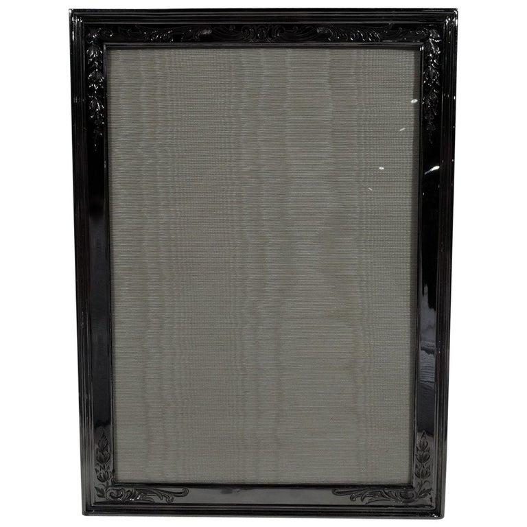 Antique Gorham Edwardian Sterling Silver Picture Frame For Sale