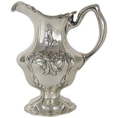 Antique Gorham Silversmiths Sterling Silver Cream Pitcher