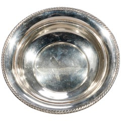 Antique Gorham Sterling Silver Bowl, 8.3 Toz, 20th Century