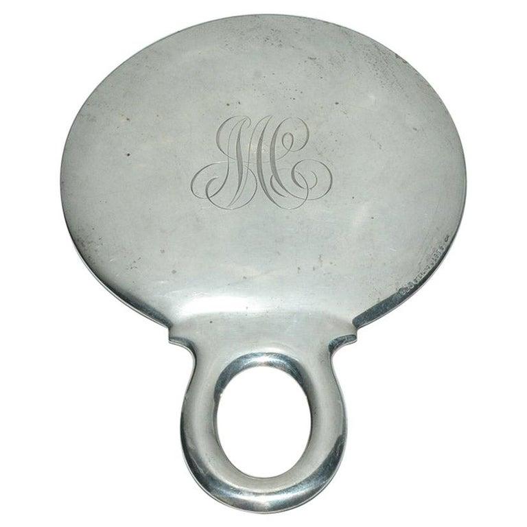 Antique Gorham Sterling Silver Hand Mirror For Sale