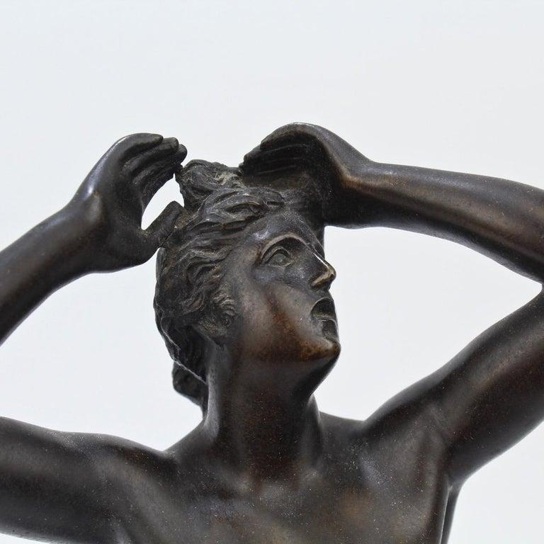 Antique Grand Tour Bronze Sculpture of a Venus For Sale 5