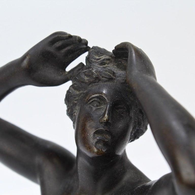 Antique Grand Tour Bronze Sculpture of a Venus For Sale 7
