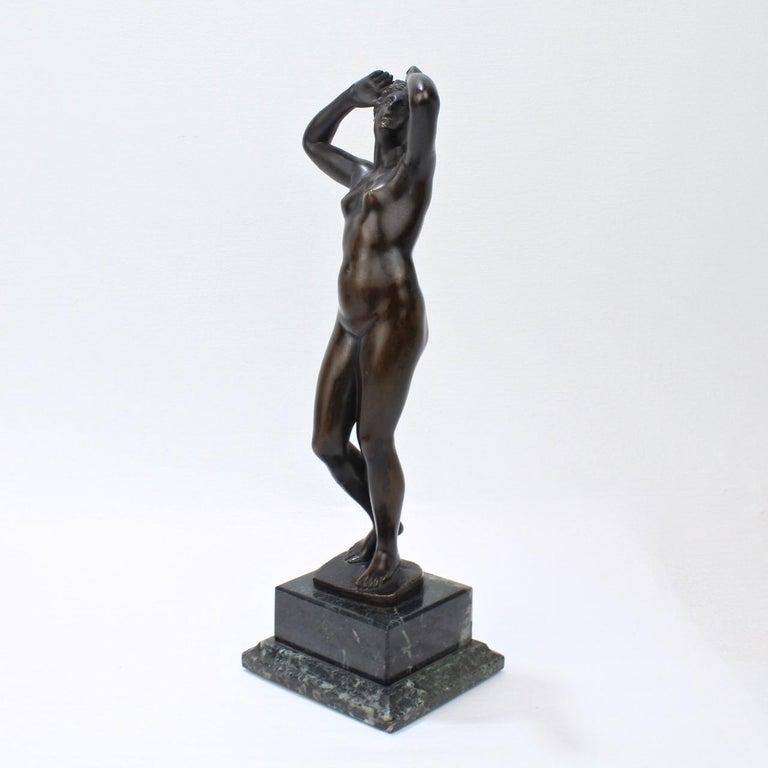 Italian Antique Grand Tour Bronze Sculpture of a Venus For Sale