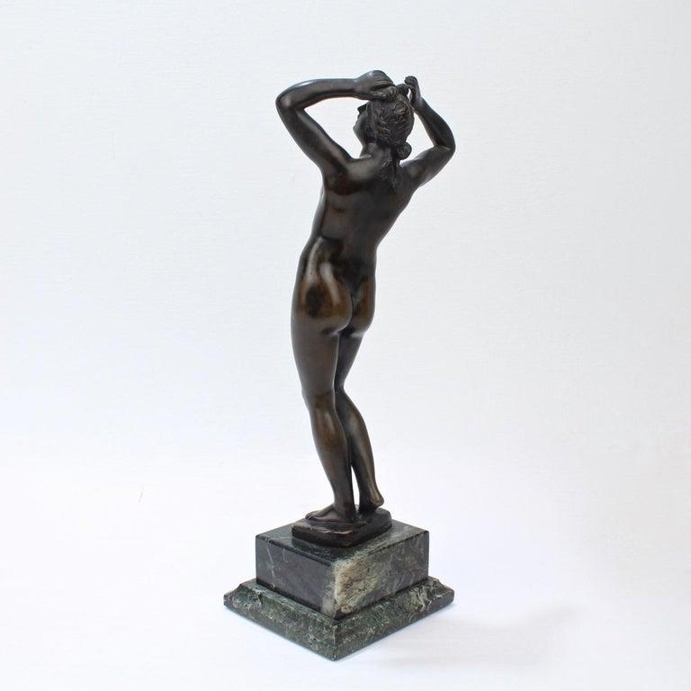 20th Century Antique Grand Tour Bronze Sculpture of a Venus For Sale