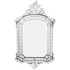 Antique Grand Venetian Mirror