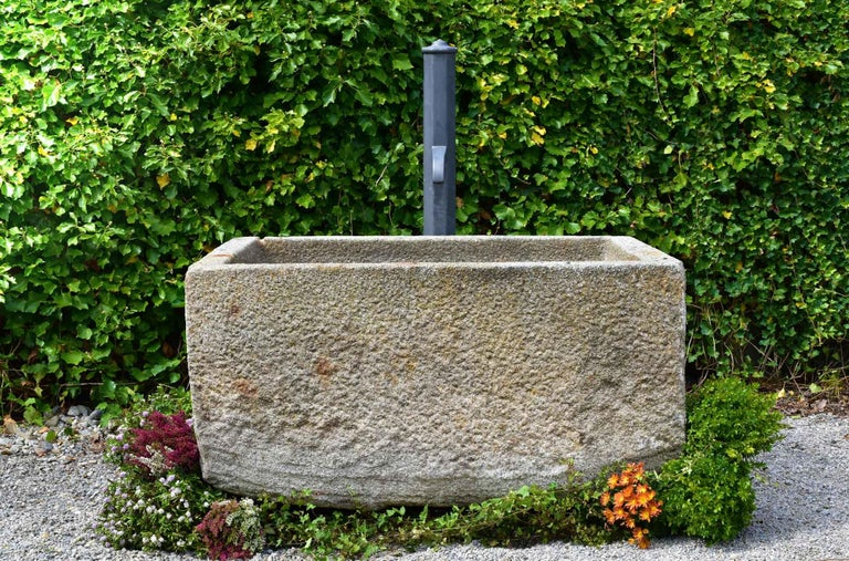 18th Century and Earlier Antique Granite Trough, 18th Century For Sale