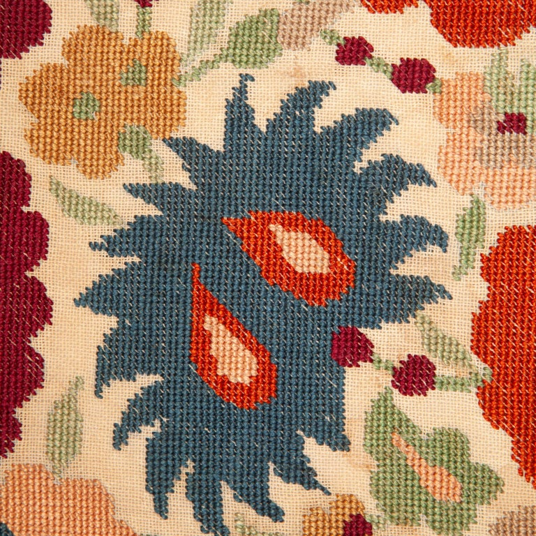 20th Century Antique Greek Embroidery from Eastern Europe in the Style of Ottoman Ones For Sale
