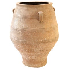Antique Greek Terracotta Olive Jar